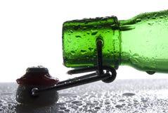 Frasco de cerveja Fotos de Stock