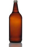 Frasco de cerveja de quarenta onças Imagens de Stock