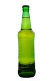 Frasco de cerveja verde Imagens de Stock