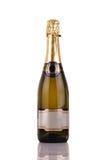 Frasco de Champagne Foto de Stock Royalty Free