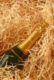 Frasco de Champagne Imagem de Stock