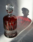 Frasco de cristal Imagem de Stock Royalty Free