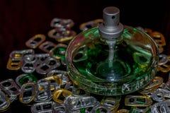 Frasco de perfume Imagens de Stock