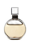 Frasco de perfume amarelo Foto de Stock Royalty Free