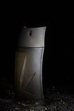 Frasco de perfume preto Foto de Stock