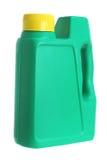 Frasco de petróleo plástico fotografia de stock royalty free