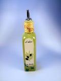 Frasco de petróleo verde-oliva foto de stock