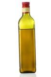 frasco de petróleo verde-oliva Extra-virgem Fotografia de Stock Royalty Free