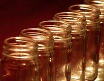 Frasco de vidro Fotos de Stock Royalty Free