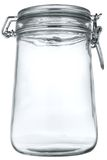 Frasco de vidro Fotografia de Stock
