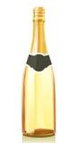 Frasco de vidro com vinho de Champagne Fotografia de Stock