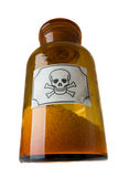 Frasco de vidro do veneno Imagens de Stock