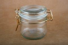 Frasco de vidro vazio imagens de stock royalty free