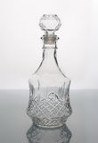Frasco de vidro vazio Imagem de Stock Royalty Free