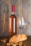 Frasco de vinho Fotos de Stock Royalty Free