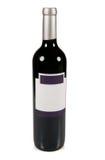 Frasco de vinho vermelho. Imagem de Stock