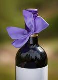Frasco de vinho vermelho Foto de Stock