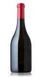Frasco de vinho vermelho Fotos de Stock Royalty Free