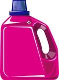 Frasco do detergente de lavanderia Foto de Stock Royalty Free