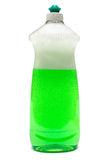 Frasco do líquido de prato Fotografia de Stock