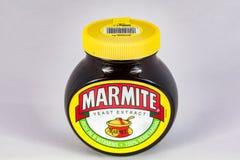 Frasco do Marmite foto de stock royalty free
