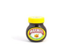 Frasco do Marmite Foto de Stock