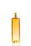 Frasco do perfume isolado no branco fotografia de stock royalty free