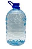 frasco do plástico de 5 litros Imagem de Stock