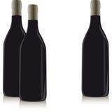 Frasco do vinho Foto de Stock