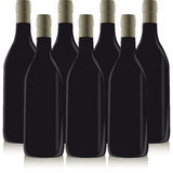 Frasco do vinho Foto de Stock Royalty Free