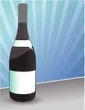 Frasco do vinho Fotografia de Stock