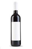 Frasco do vinho vermelho Foto de Stock Royalty Free