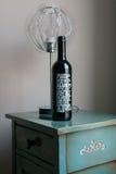 Frasco do vinho vermelho Imagens de Stock Royalty Free