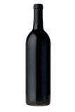 Frasco do vinho vermelho imagem de stock