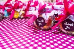 Frasco dos doces Imagem de Stock Royalty Free
