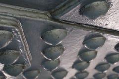 Frasco esférico do gás Fotografia de Stock Royalty Free
