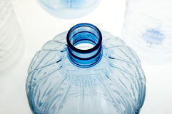 Frasco plástico foto de stock
