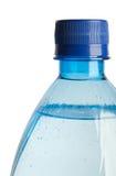 Frasco plástico com água Fotos de Stock Royalty Free