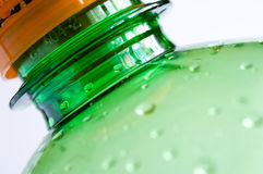 Frasco plástico Fotografia de Stock