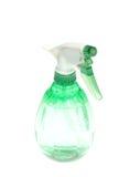 Frasco verde do pulverizador Fotografia de Stock Royalty Free