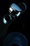 Frasco y vidrio de tiro Fotos de archivo libres de regalías