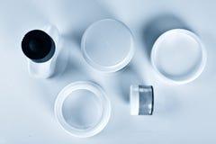 Frascos Assorted dos cosméticos Imagens de Stock Royalty Free