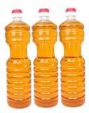 Frascos com petróleo vegetal imagem de stock royalty free