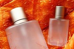 Frascos cosméticos Foto de Stock Royalty Free
