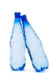 Frascos da água isolados Imagens de Stock