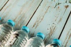 Frascos da água mineral Fotografia de Stock