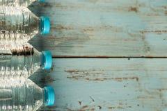 Frascos da água mineral Foto de Stock