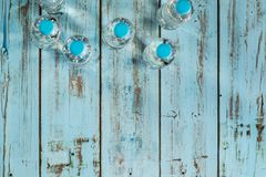 Frascos da água mineral Imagens de Stock