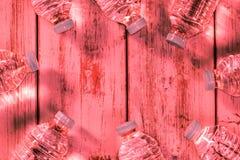 Frascos da água mineral Foto de Stock Royalty Free