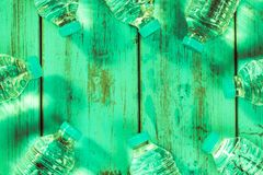 Frascos da água mineral Fotos de Stock